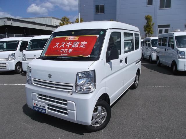 スズキ PA 3型 AGS 4WD スタッドレスタイヤ付き ESC
