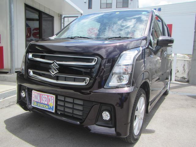 沖縄県の中古車ならワゴンRスティングレー スティングレー HYBRID X 2型