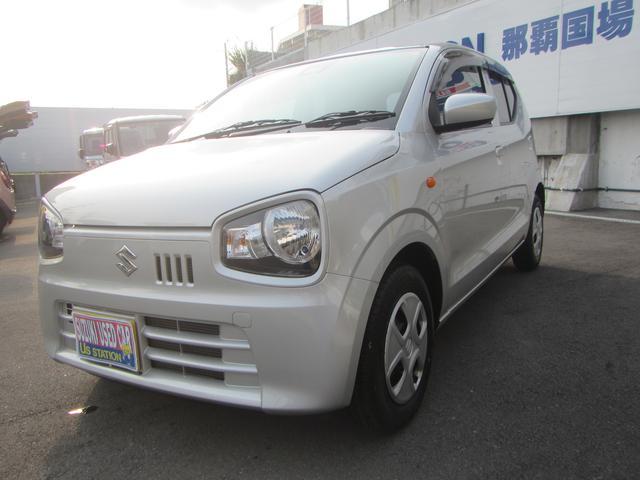 沖縄の中古車 スズキ アルト 車両価格 92万円 リ済別 2020(令和2)年 0.8万km シルキーシルバーメタリック