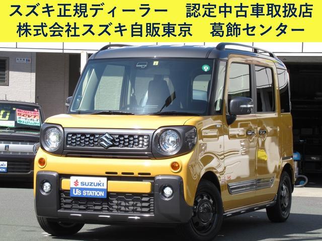 スズキ ギア HYBRID XZ 4WD スズキセーフティサポート