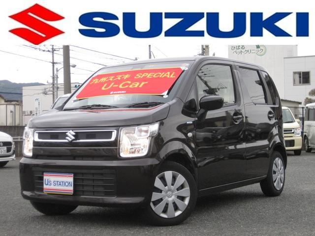 スズキ HYBRID FX 社用車UP サポカー シートヒーター付