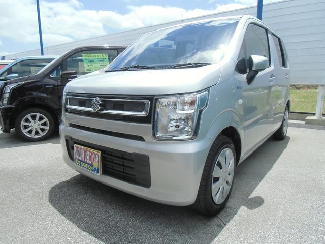 沖縄の中古車 スズキ ワゴンR 車両価格 99万円 リ済別 2020(令和2)年 0.3万km シルキーシルバーメタリック