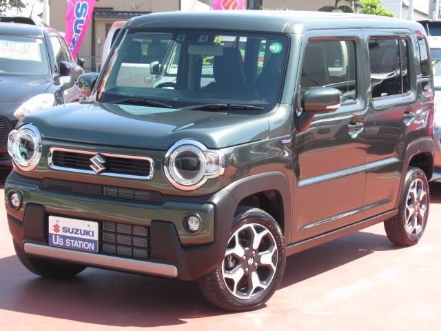スズキ HYBRID X LEDヘッドライト 両席シートヒーター