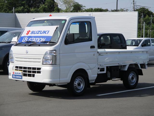 スズキ キャリイトラック KCパワステ 4型 4WD 5速MT マニュアルミッション