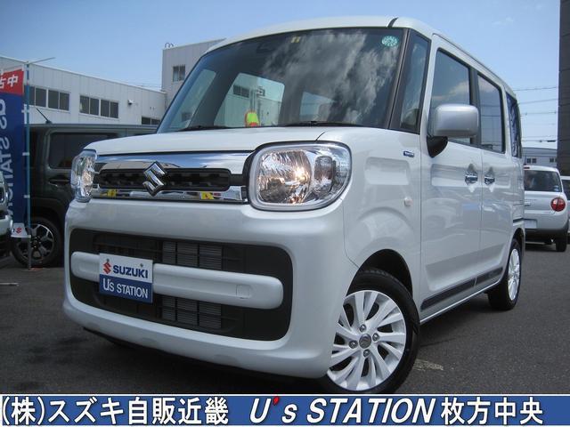 スズキ ホワイトエディション 衝突軽減ブレーキ/メーカー保証継承/