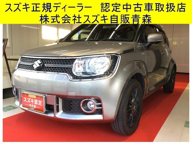 スズキ HYBRID MX 4WD CVT 純正ナビ バックカメラ付