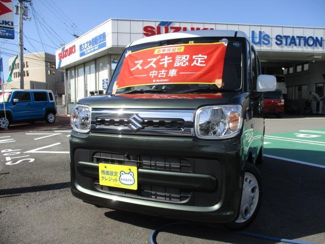 スズキ HYBRID X 2型全方位モニター用カメラパッケージ装着車