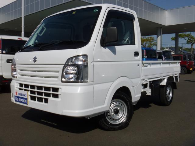 スズキ キャリイトラック KCエアコンパワステ 4型  4WD 衝突軽減ブレーキ