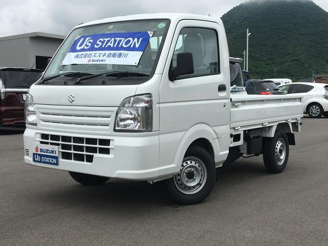スズキ キャリイトラック KCエアコンパワステ 4型 マニュアルミッション車