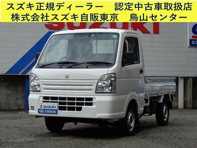 スズキ キャリイトラック KCエアコンパワステ 4型 2WD・5速MT・前後軽減B