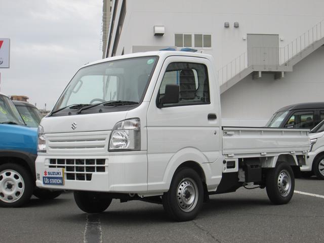 スズキ キャリイトラック KCエアコンパワステ 4型 三方開 4WD