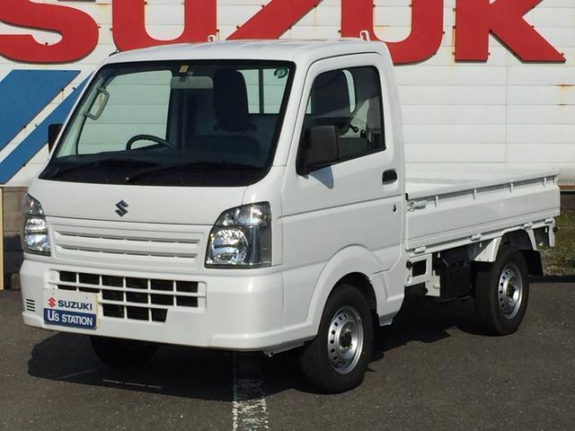 スズキ キャリイトラック KCエアコンパワステ 4WD/マニュアル車/ラジオプレーヤー