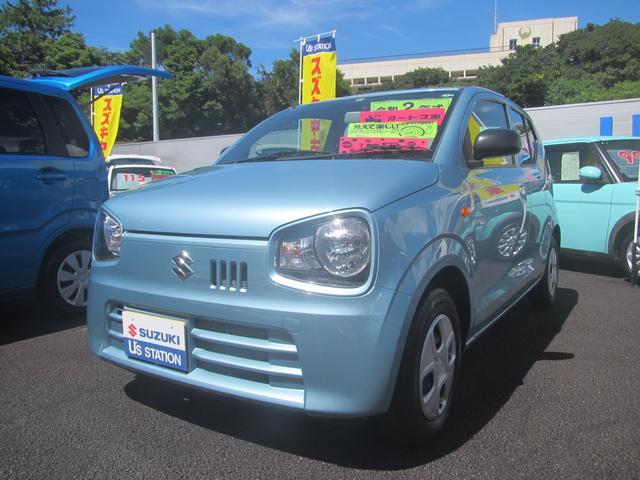 沖縄の中古車 スズキ アルト 車両価格 72万円 リ済別 2020(令和2)年 0.3万km フィズブルーパールメタリック
