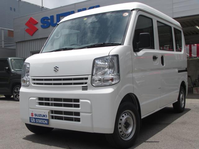 沖縄の中古車 スズキ エブリイ 車両価格 85万円 リ済別 2020(令和2)年 1.3万km ホワイト
