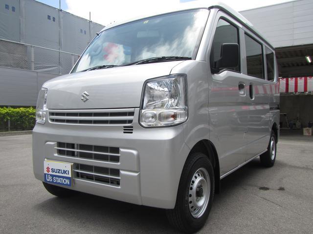 沖縄の中古車 スズキ エブリイ 車両価格 85万円 リ済別 2020(令和2)年 0.9万km シルキーシルバーメタリック