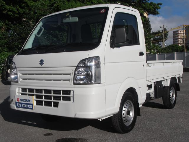 沖縄の中古車 スズキ キャリイトラック 車両価格 73万円 リ済別 2019(令和1)年 0.8万km ホワイト