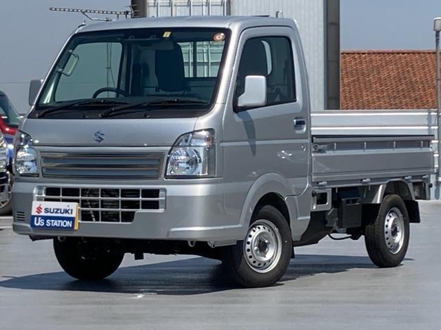 スズキ キャリイトラック 農繁スペシャル 4型 パートタイム4WD 5MT 代車使用