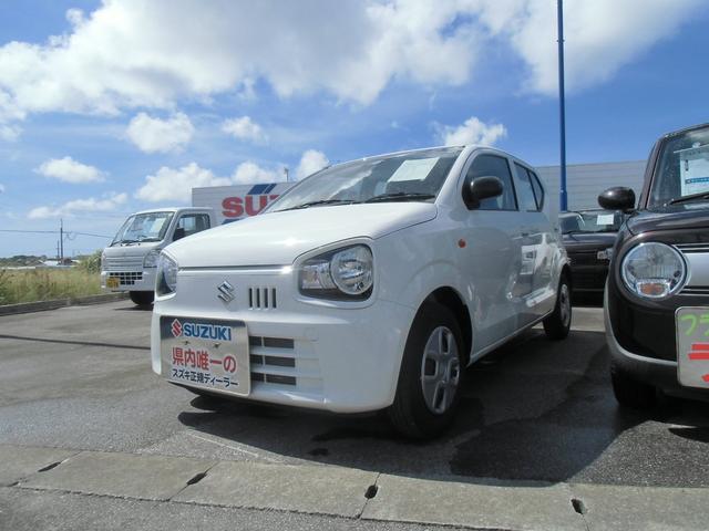 沖縄の中古車 スズキ アルト 車両価格 75万円 リ済別 2020(令和2)年 0.2万km ホワイト