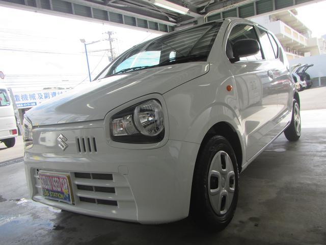 沖縄の中古車 スズキ アルト 車両価格 79万円 リ済別 2019(令和1)年 0.6万km ホワイト