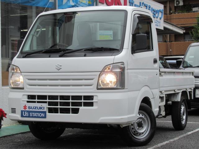 スズキ キャリイトラック KC エアコン・パワステ 5MT 4WD ラジオプレイヤー