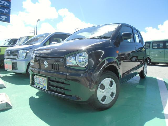 沖縄の中古車 スズキ アルト 車両価格 73万円 リ済別 2020(令和2)年 0.3万km アーバンブラウンパールメタリック