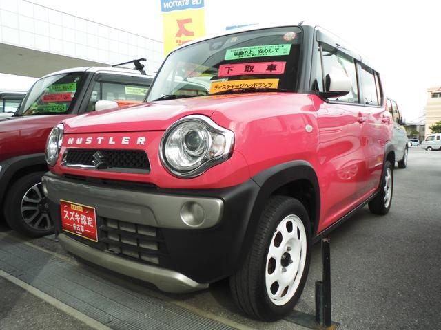 沖縄県うるま市の中古車ならハスラー G 2型 DVD/USB/BT付 ETC付 衝突被害軽減B