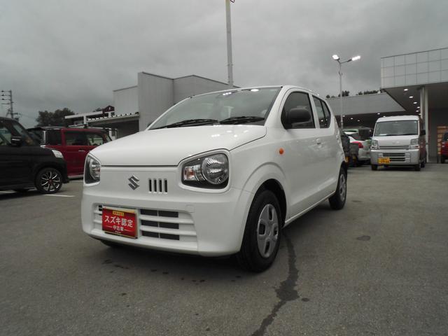 沖縄の中古車 スズキ アルト 車両価格 80万円 リ済別 2020(令和2)年 0.8万km ホワイト
