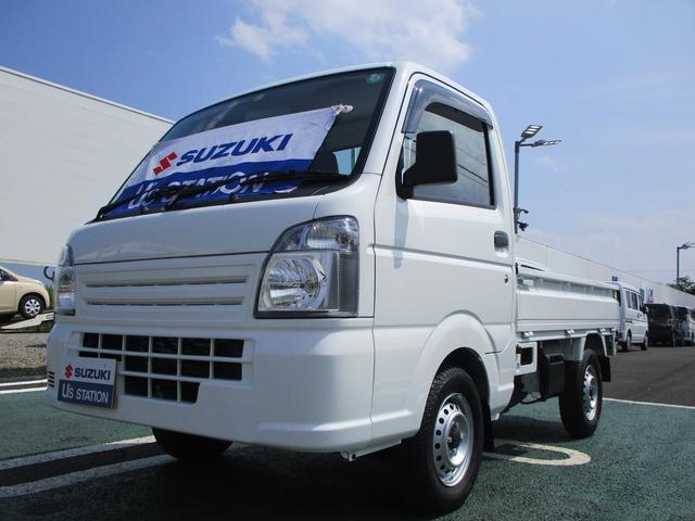 スズキ キャリイトラック KCエアコンパワステ 4型 4WD 5MT 5速マニュアル