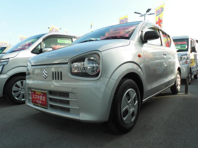 沖縄県うるま市の中古車ならアルト L レーダブレーキサポート バイザー マット付き
