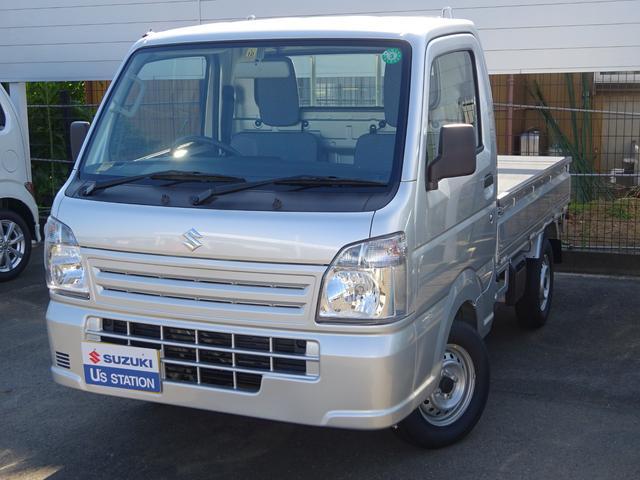 スズキ キャリイトラック KCエアコンパワステ 4型  4WD 5M/T 三方開