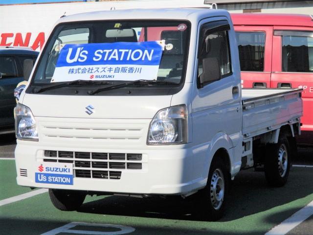 スズキ キャリイトラック KC エアコン・パワステ 4WD オートマチック