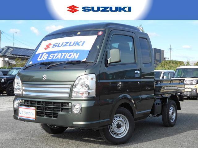 スズキ スーパーキャリイ X 衝突軽減ブレーキ 4WD/5MT車