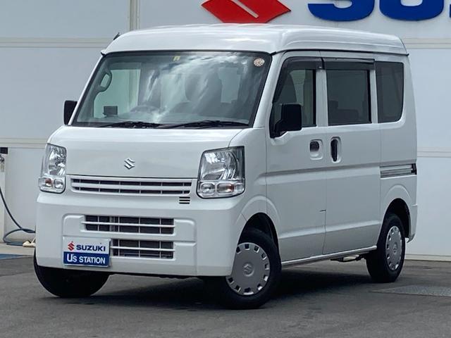 スズキ エブリイ JOIN 3型 5MT 2WD CDプレーヤー 盗難警報装置