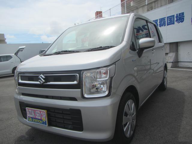 沖縄の中古車 スズキ ワゴンR 車両価格 107万円 リ済別 2020(令和2)年 0.7万km シルキーシルバーメタリック