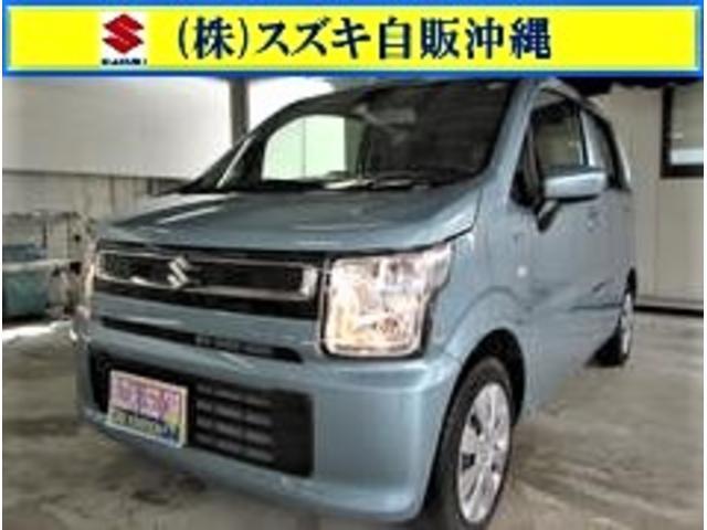 沖縄の中古車 スズキ ワゴンR 車両価格 107万円 リ済別 2020(令和2)年 1.1万km フィズブルーパールメタリック