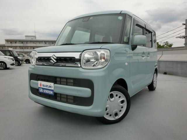 スズキ スペーシア HYBRID X レンタカーUP車