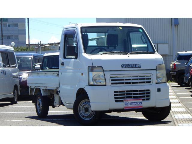 スズキ KC エアコン・パワステ DA63T 4WD ETC装備
