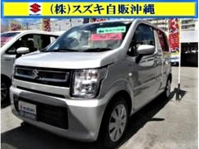 沖縄の中古車 スズキ ワゴンR 車両価格 107万円 リ済別 2020(令和2)年 0.6万km シルキーシルバーメタリック