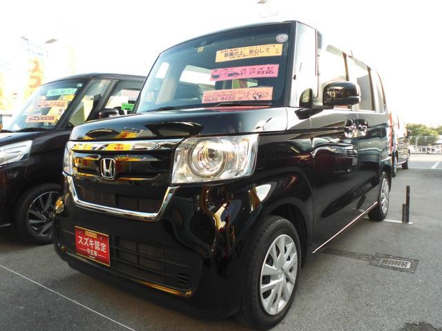 沖縄県の中古車ならN-BOX G・Lホンダセンシング ナビ バックカメラ ETC付き