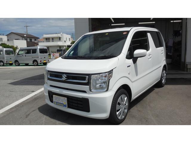沖縄の中古車 スズキ ワゴンR 車両価格 110万円 リ済別 2020(令和2)年 0.9万km ホワイト