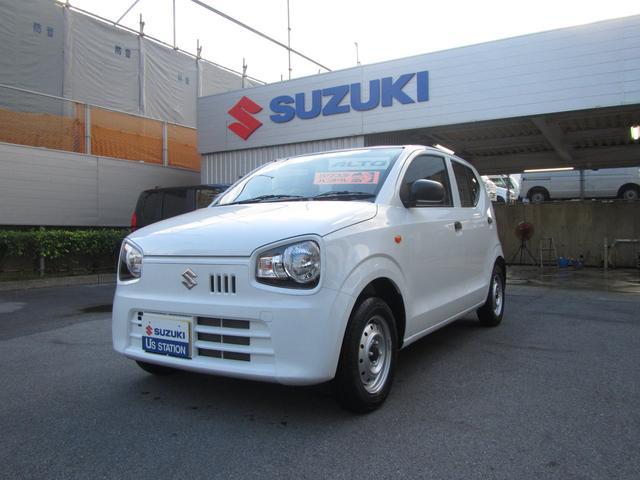 沖縄の中古車 スズキ アルト 車両価格 65万円 リ済別 2020(令和2)年 0.5万km ホワイト