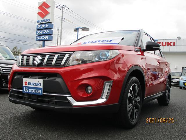 スズキ 1.4ターボ 2型 フルタイム4WD セーフティーサポート 1400ccターボ SUV 盗難警報装置 アルミホイール