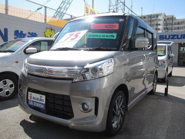 沖縄県浦添市の中古車ならスペーシアカスタム カスタム TS MK32型