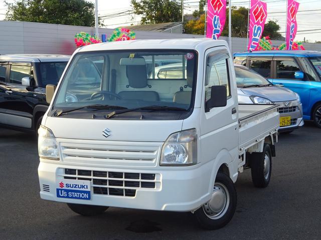 スズキ KC エアコン・パワステ 4WD 5M/T 荷台マット