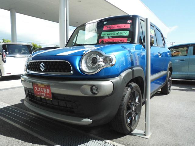 沖縄県うるま市の中古車ならクロスビー HYBRID MZ LEDライト プッシュスタート クルコン