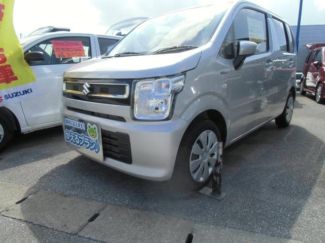 沖縄の中古車 スズキ ワゴンR 車両価格 109万円 リ済別 2020(令和2)年 0.3万km シルキーシルバーメタリック