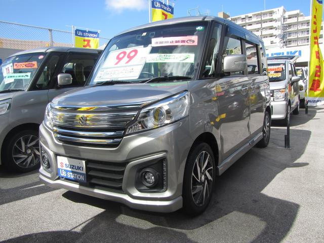 沖縄県浦添市の中古車ならスペーシアカスタム カスタム XS MK42S 2型