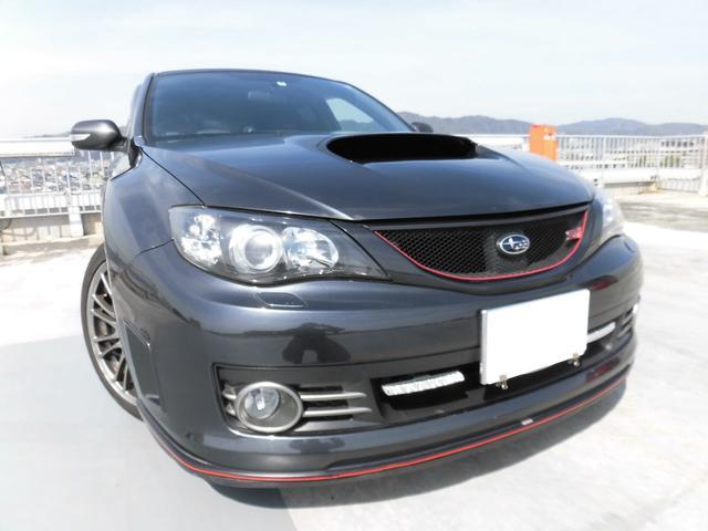 WRX STI Aライン HKS車高調 マフラー HDDナビ(3枚目)
