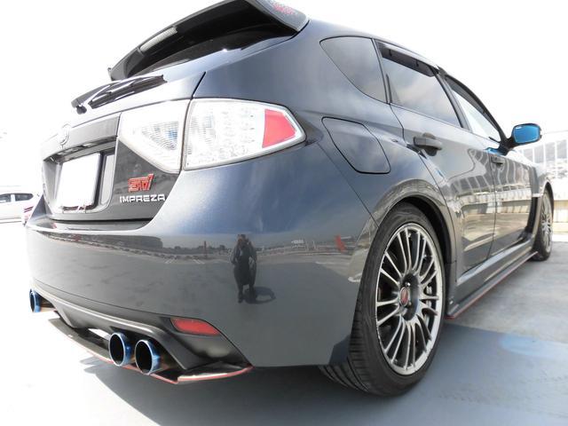WRX STI Aライン HKS車高調 マフラー HDDナビ(6枚目)