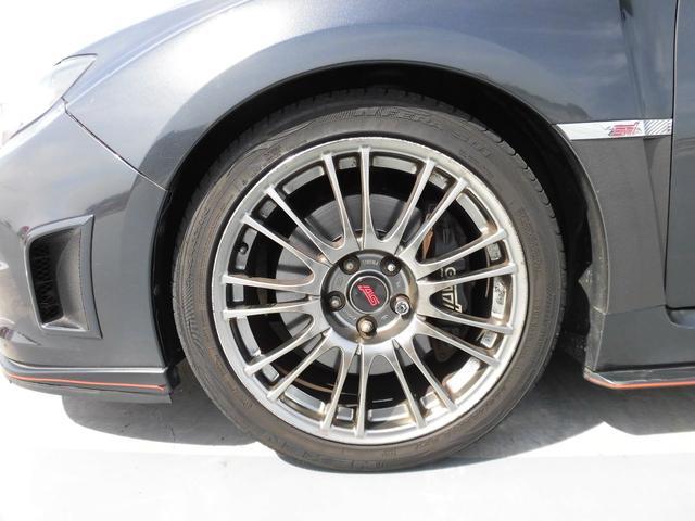 WRX STI Aライン HKS車高調 マフラー HDDナビ(8枚目)